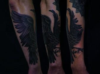 2020 Nov 26 Crow Tattoo