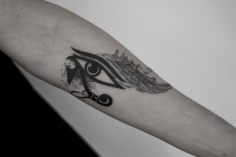 Eye X Wing Tattoo