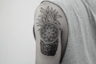 2018 Pineapple Tattoo