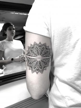 2019 May 3 Mandala Tattoo