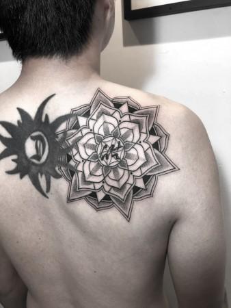 2019 Oct 2th Mandala Tattoo