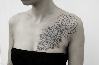 Mandala Dot Work Cover up