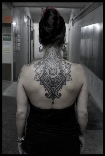 Mandala Tattoo back-2